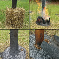 WFS Netting Fire Test
